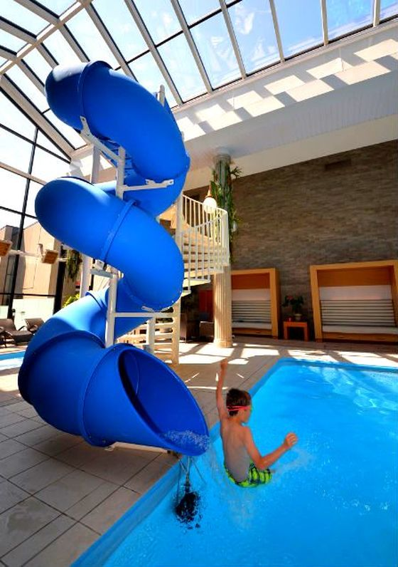 safety is a paramount consideration in our slides our pool slides feature a premium safety system consisting of a robust platform high windowed side rails