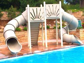 gray mariner water slide