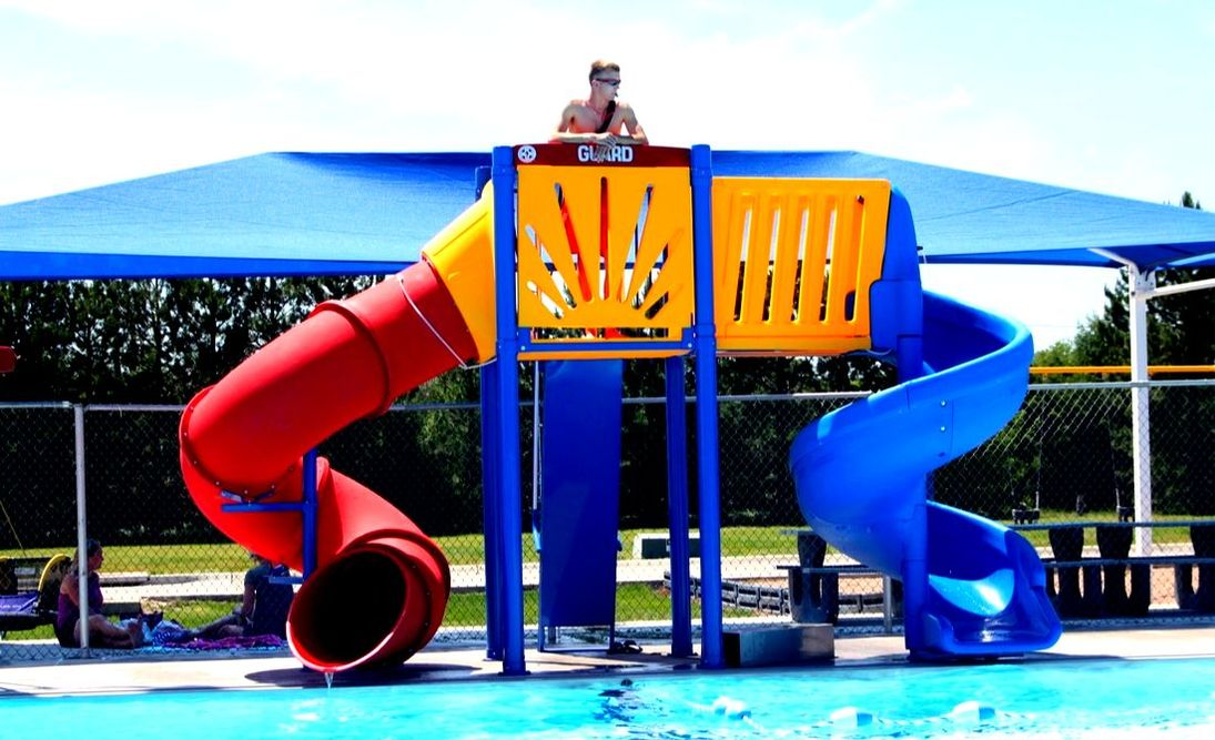 luxury mariner water slides