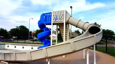 luxury mariner slide above ground