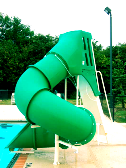 baker close up water slide
