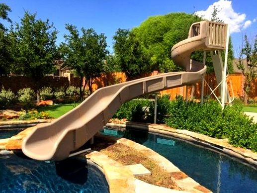 Signature Pool Slides - Summit USA - Commercial Luxury Custom Pool ...